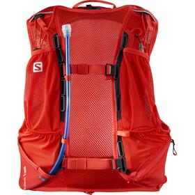 Salomon Skin Pro 10 Backpack Set fiery red